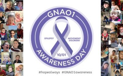 1 oktober: GNAO1 Awareness Day 2020 komt eraan!